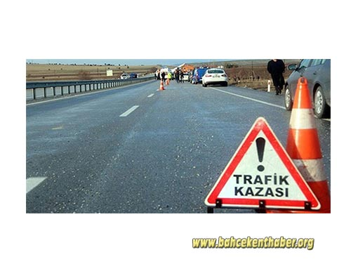 Bahçekentte Trafik Kazası