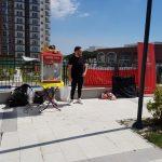 Bahçekent Flora Sitesine Yaz Erken Geldi