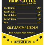 Bahçekent Hair Style