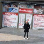 """Aydın Sağlık Kabininin sahibi olan Ali Aydın """"Bahçekentlilere hizmet sunmaktan büyük mutluluk duyuyorum"""" dedi"""