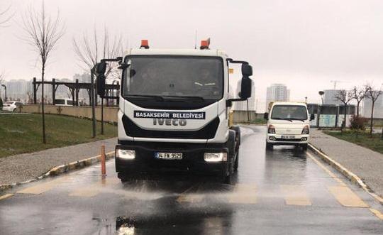 Bahçekent'in tüm siteleri temizlendi!