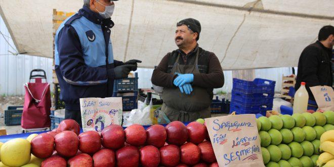 Başakşehir Belediyesi pazar yerlerinde denetimi sıklaştırdı