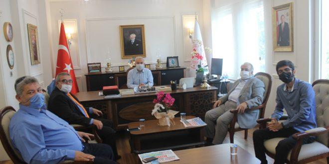 Bahçekent Gazetesi, Başakşehir Kaymakamı Uğur Turan´ı Makamında Ziyaret Etti