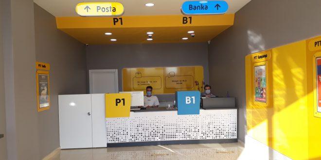 Bahçekent PTT'sine kavuştu