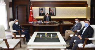 Genel Koordinatörümüz Osman Aydemir, Aydın Valisi Hüseyin Aksoy'u ziyaret
