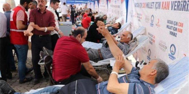 Bahçekent'te Kan Bağışı Seferberliği